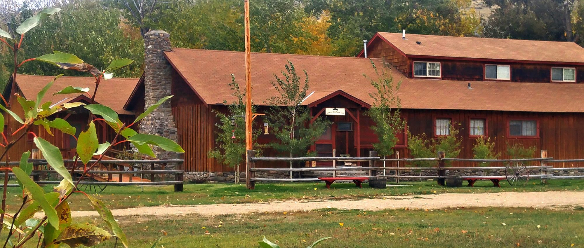 Great waters inn great waters inn big hole river fly for Montana fishing lodges